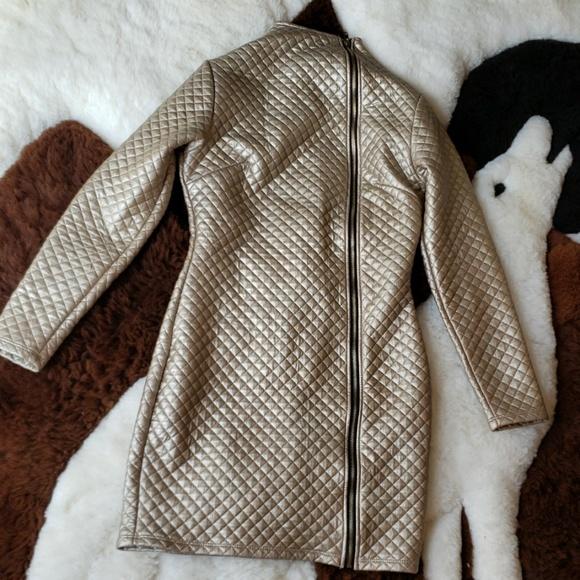 Goodtime Dresses & Skirts - Goodtime Space zip down bodycon dress